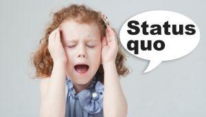 """トランプ大統領よりも怖〜いお話 """"Status quo"""" アメリカ直送!最新トレンド英単語"""