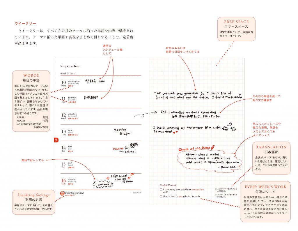 english_diry_英語手帳・ 日記